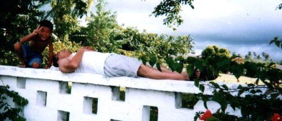 第17回 サモアで昼寝した父